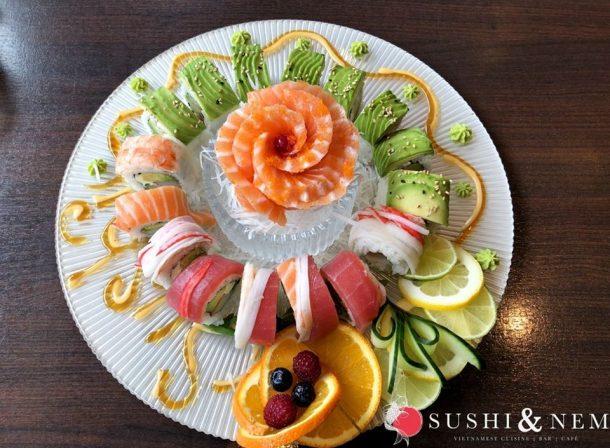 einzigartige Sushi Kreationen